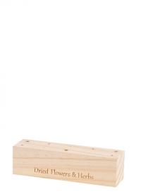 Декоративная деревянная подставка для сухоцветов 15 см FH017 от Esschert Design фото