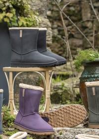 Угги резиновые зимние CHEYENNETOO Black - французская обувь AJS-Blackfox фото