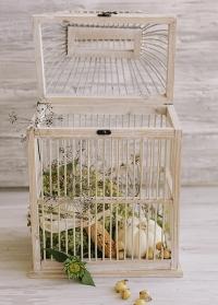 Декоративная птичья клетка ручной работы Lene Bjerre фото.jpg