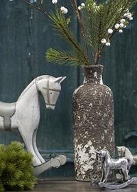 Ваза из состаренной керамики в скандинавском стиле Lene Bjere фото