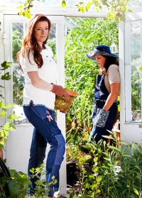 Поло GardenGirl Denim Collection