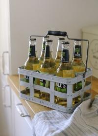 Корзина для бутылок из оцинкованного металла Esschert Design фото