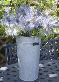 Оцинкованная ваза для цветов 4 л OZ33 Esschert Design фото.jpg