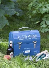 Кейс металлический для садовых инструментов Burgon & Ball фото.jpg