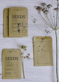 Пакетики для семян из крафт бумаги Essential Tools Burgon & Ball