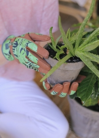 Перчатки для садоводов и дачников из замши Tropical Love the Glove Burgon Ball фото