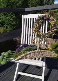 Корзина садовая для цветов MW45 Esschert Design картинка