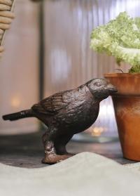 Садовая декоративная фигурка из чугуна Птичка TT118 Esschert Design фото
