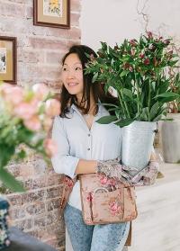 Перчатки для работы с цветами и рассадой GardenGerl RRH30 фото