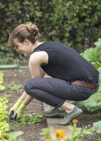 Дачные туфли из эва DERBY Khaki AJS-Blackfox фото