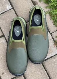 Туфли садовые для дачи и отдыха на природе NEO Khaki AJS-Blackfox