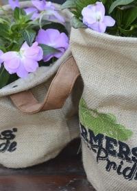 Кашпо для растений из джута Farmer Esschert Design FP021 фото