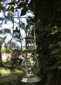 Свечной фонарь Aged Metal Green Esschert Design, S