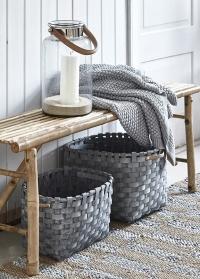 Набор плетеных декоративных корзин Lene Bjerre фото