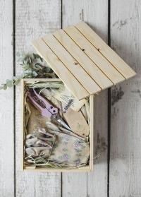 Деревянный ящик для подарка Consta Garden, M