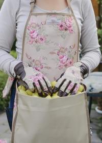Перчатки кожаные для дачи и сада GardenGirl Classic GSG02 фото