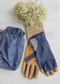 Перчатки садовые универсальные GardenGirl Denim Collection