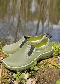 Туфли из эва для сада и огорода DERBY Khaki  AJS-Blackfox фото