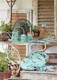 Зонт складной механический Flora and Fauna Collection Burgon & Ball